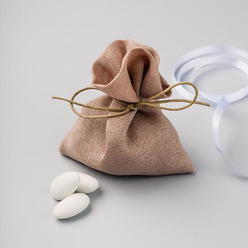 Sacchettino avorio per confetti
